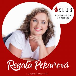 Online škola šití | Šití Renata | Klub podnikatelek ze Zlínska
