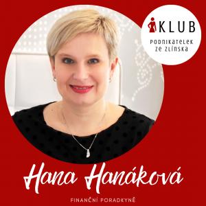 finanční poradkyně | Klub podnikatelek ze Zlínska